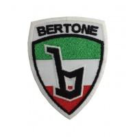 0335 Patch écusson brodé 7x9 BERTONE ITALIE