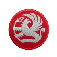 1120 Embroidered patch 7x7 VAUXHALL