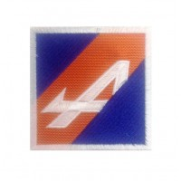 1121 Patch emblema bordado 7x7 ALPINE renault
