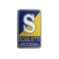 1122 Embroidered patch 9x5 SCAGLIETTI MODENA FERRARI