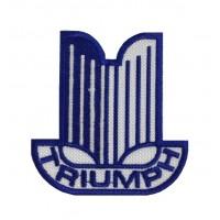 1123 Patch emblema bordado 8x7 TRIUMPH