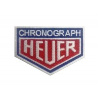 1126 Embroidered patch 9x7 CHRONOGRAPH HEUER
