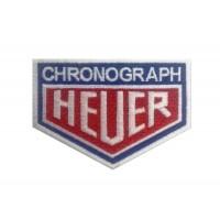 1126 Patch emblema bordado 9x7 CHRONOGRAPH HEUER