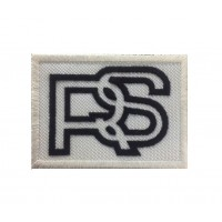 0785 Embroidered patch 8x6 RS FORD black