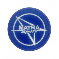 1132 Patch emblema bordado 7x7 MATRA SPORTS