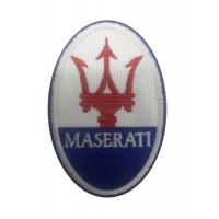 1133 Embroidered patch 9x6 MASERATI