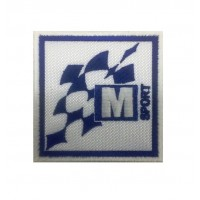 1134 Patch emblema bordado 7x7 M SPORT