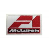 1136 Patch emblema bordado 7X4.5 MCLAREN F1 RACING TEAM