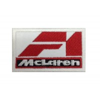 1136 Patch emblema bordado 7X4.5 MCLAREN F1 RACING TEAM