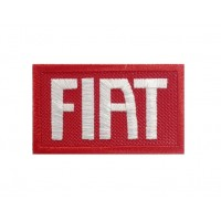 1144 Patch emblema bordado 7X4.5 FIAT