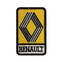 1145 Patch emblema bordado 9x5 RENAULT 1972
