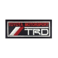 0628 Embroidered patch 10x4 TRD TOYOTA MOTORSPORT RACING DEVELOPMENT