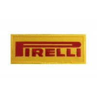 0085 Embroidered patch 10x4 Pirelli