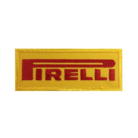 0085 Patch emblema bordado 10x4 Pirelli