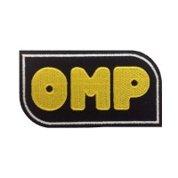 0051 Patch emblema bordado12x7 OMP