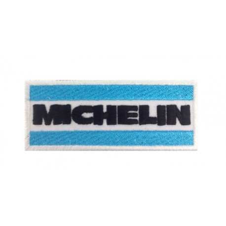 1147 Embroidered patch 10x4 Michelin