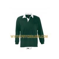 1151 Polo Rugby homem manga comprida PACK