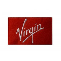 Embroidered patch 10x6 VIRGIN