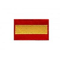 0131 Patch emblema bordado 6X3,7 bandeira ESPANHA