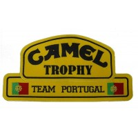 0139 Embroidered patch 26x14 CAMEL TROPHY Team Portugal