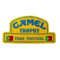 0141 Embroidered patch 26x14 CAMEL TROPHY Team Portugal