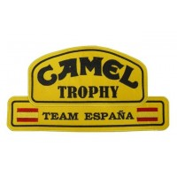 Embroidered patch 26x14 Camel Trophy Team Spain