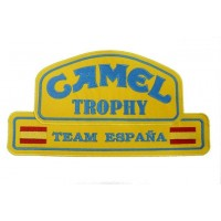 Patch emblema bordado 26x14 Camel Trophy Team Espanha