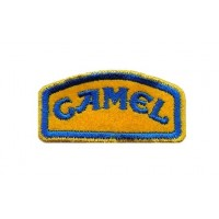 0154 Embroidered patch 6X3 CAMEL TROPHY