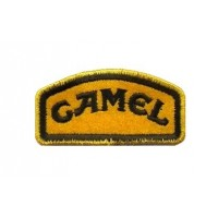 0155 Embroidered patch 6X3 CAMEL TROPHY