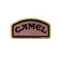 0156 Embroidered patch 6X3 CAMEL TROPHY