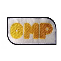 Patch emblema bordado12x7 OMP