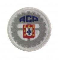 1208 Patch écusson brodé 7x7 Automovel Clube de Portugal