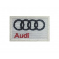 1210 Embroidered patch  6x4 AUDI