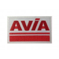1222 Patch écusson brodé 10x6 AVIA