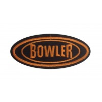 0528 Embroidered patch 10x4 BOWLER