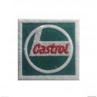 1226 Embroidered patch 5X5 CASTROL