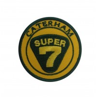 0776 Embroidered patch 7x7 CATERHAM SUPER SEVEN 7