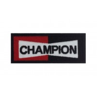 0073 Embroidered patch 10x4 CHAMPION