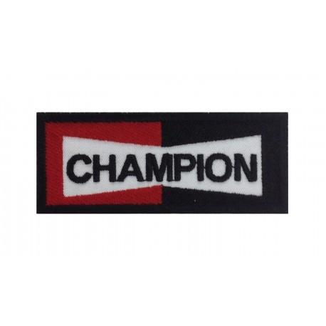 0073 Patch écusson brodé 10x4 Champion