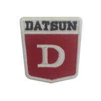 1227 Embroidered patch 6X6 DATSUN