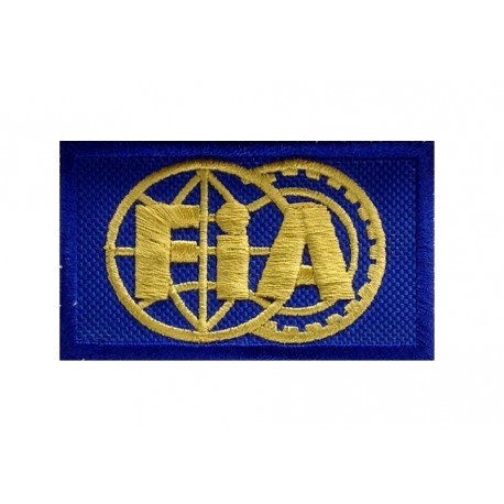 0883 Embroidered patch 7x5 FIA