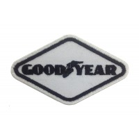 0761 Patch emblema bordado 9x5 GOODYEAR