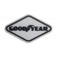 0761 Parche emblema bordado 9x5 GOODYEAR