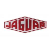 1234 Patch emblema bordado 24X12 JAGUAR
