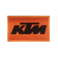 0118 Embroidered patch 10x6 KTM