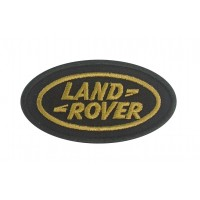 0868 Embroidered patch 9x5 LAND ROVER VINTAGE