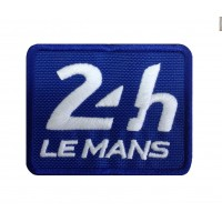 1240 Patch emblema bordado 8x6 LE MANS 24 HORAS