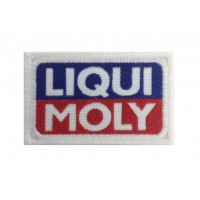 0597 Embroidered patch 8X5 LIQUI MOLY