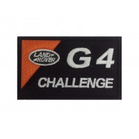 0651 Patch emblema bordado 10x6 LAND ROVER G4 CHALLENGE