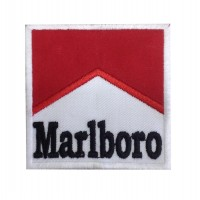 0058 Embroidered patch 7x7 MARLBORO
